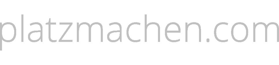 platzmachen.com - Blog!